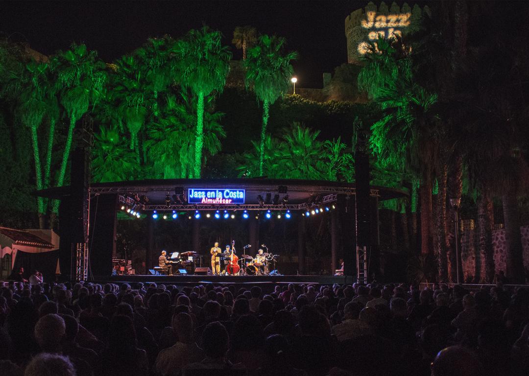 Jazz en la Costa parque